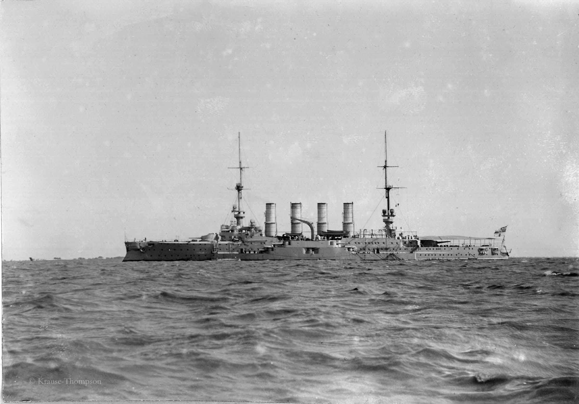 SMS Gneisenau, armored cruiser of the German navy