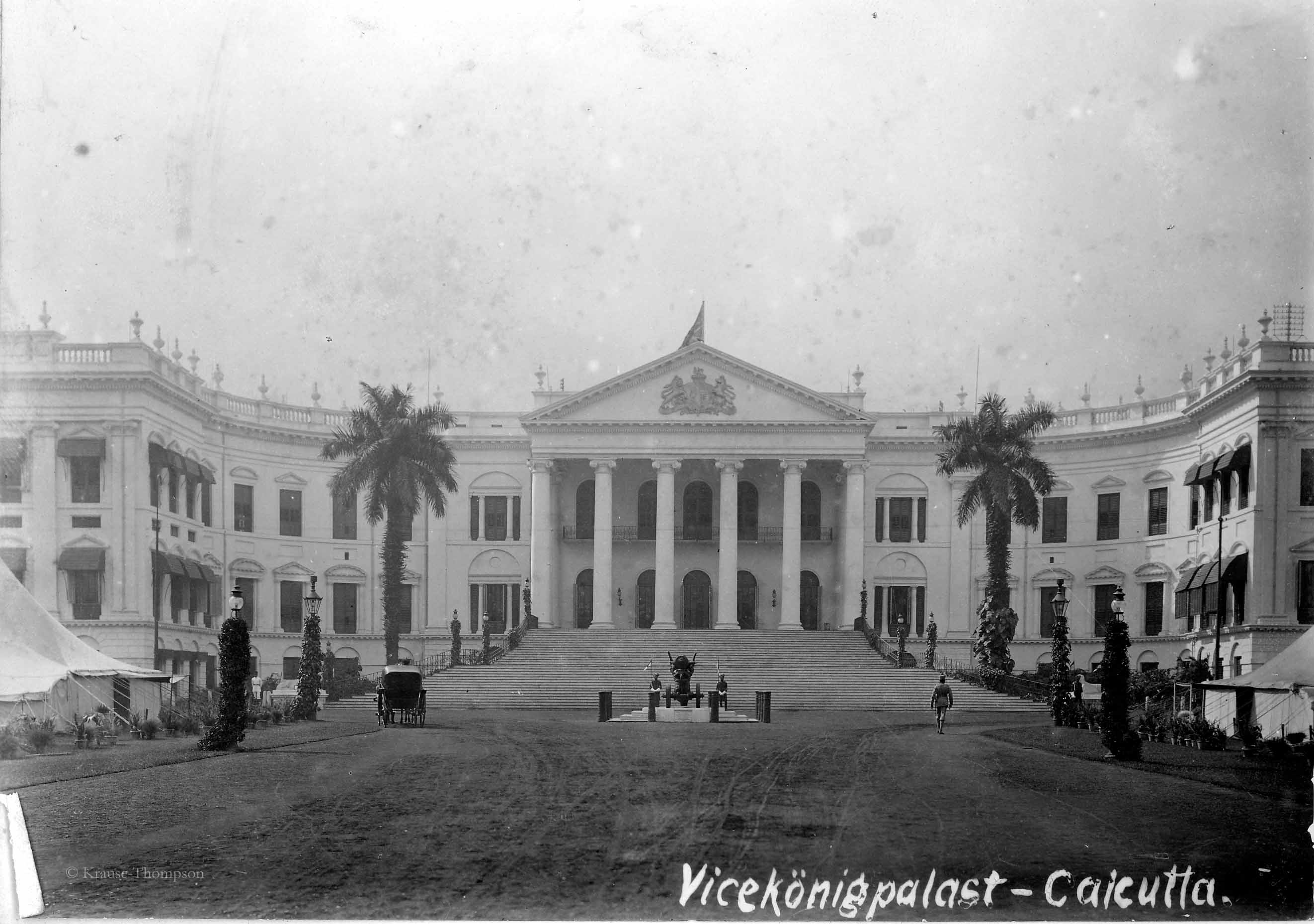 Palace of viceroy in Calcutta