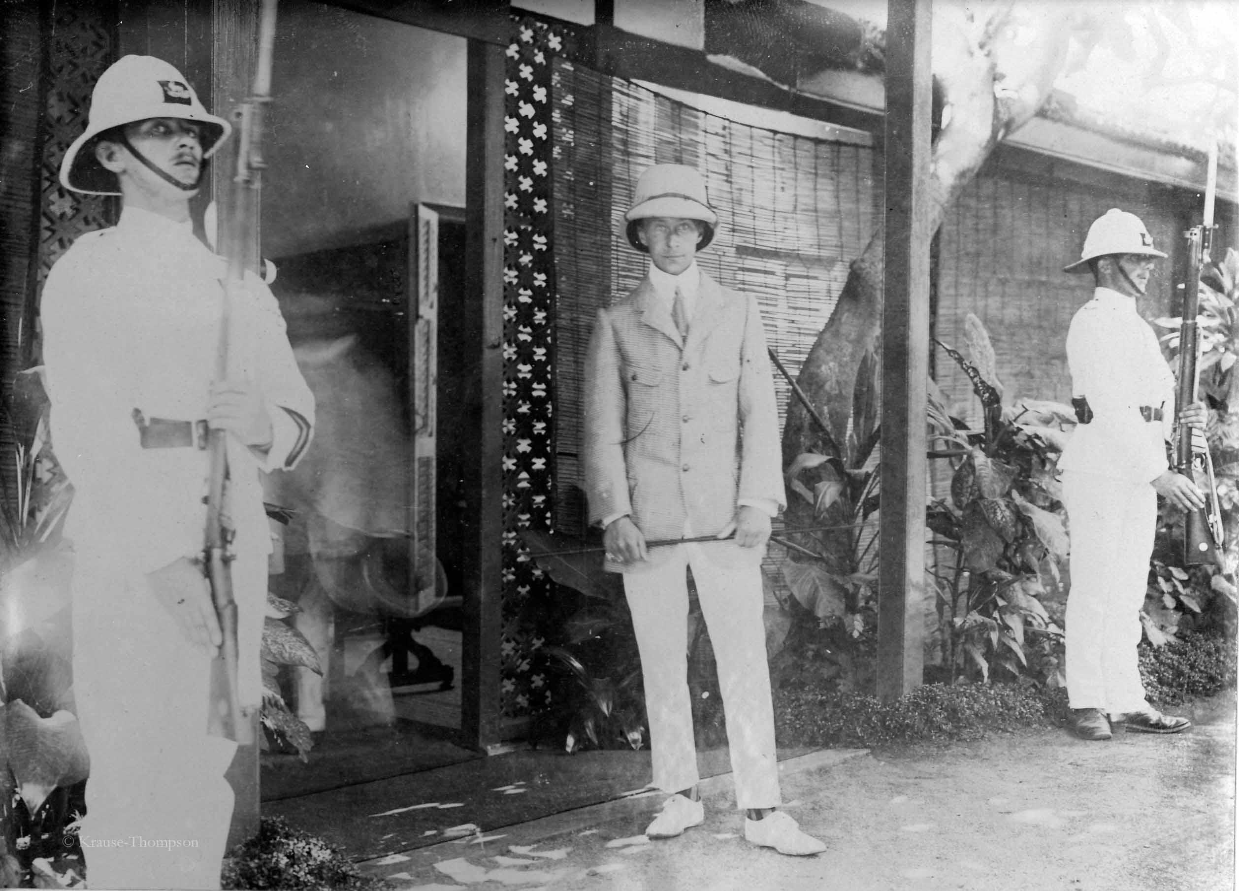 Crown Prince Wilhelm in Kendy