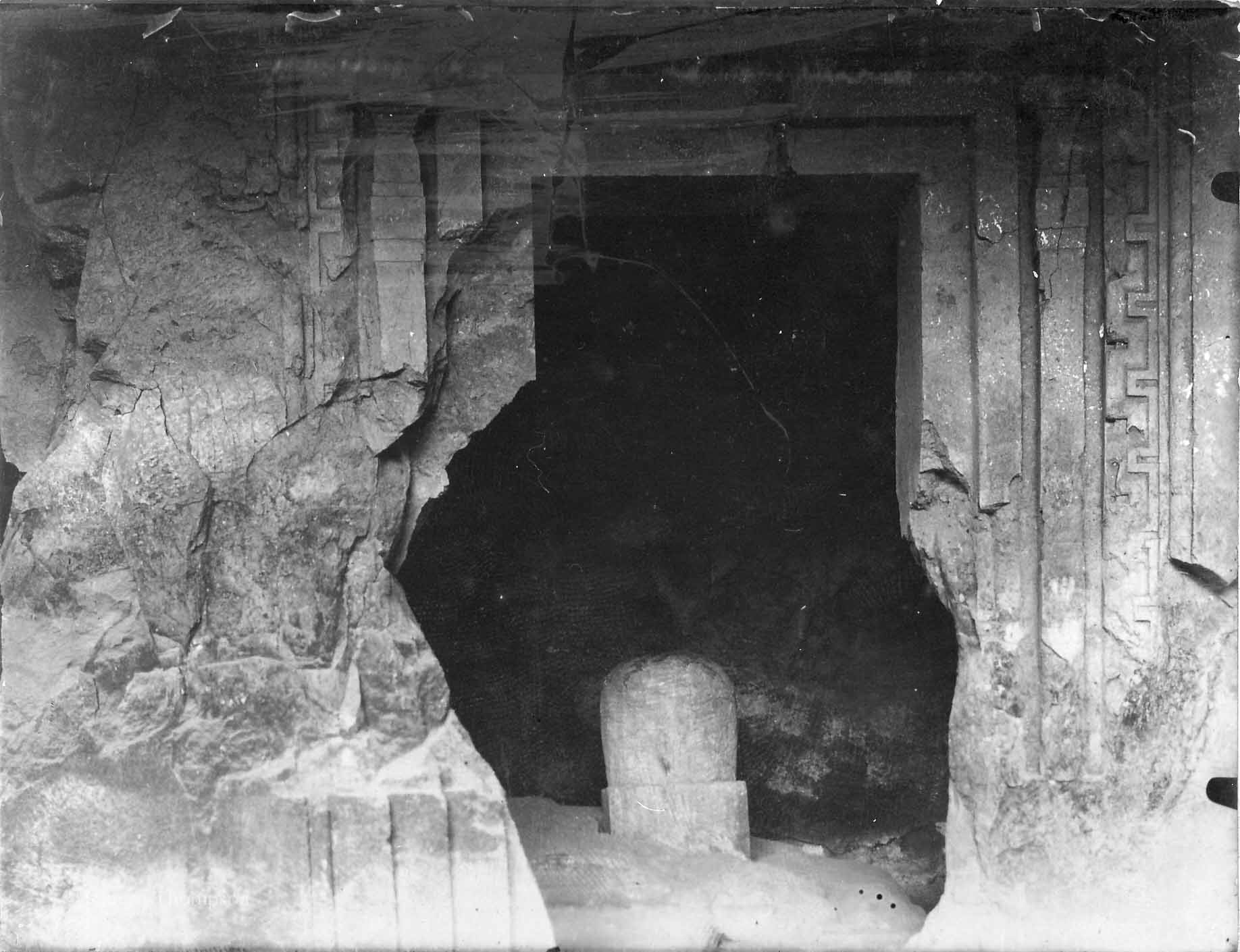Stone on the Elephanta Island