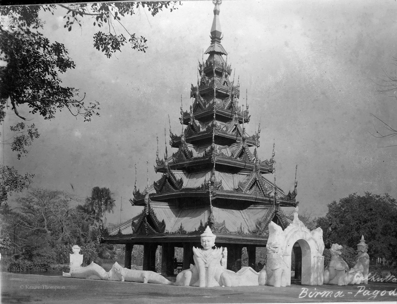 Calcutta Burma pagoda