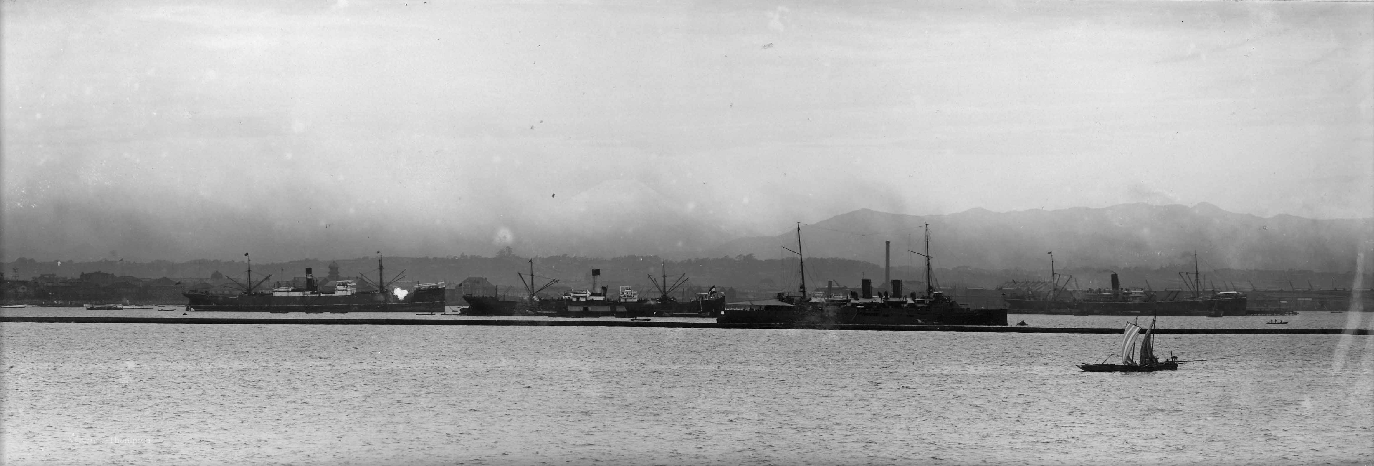 View of ships